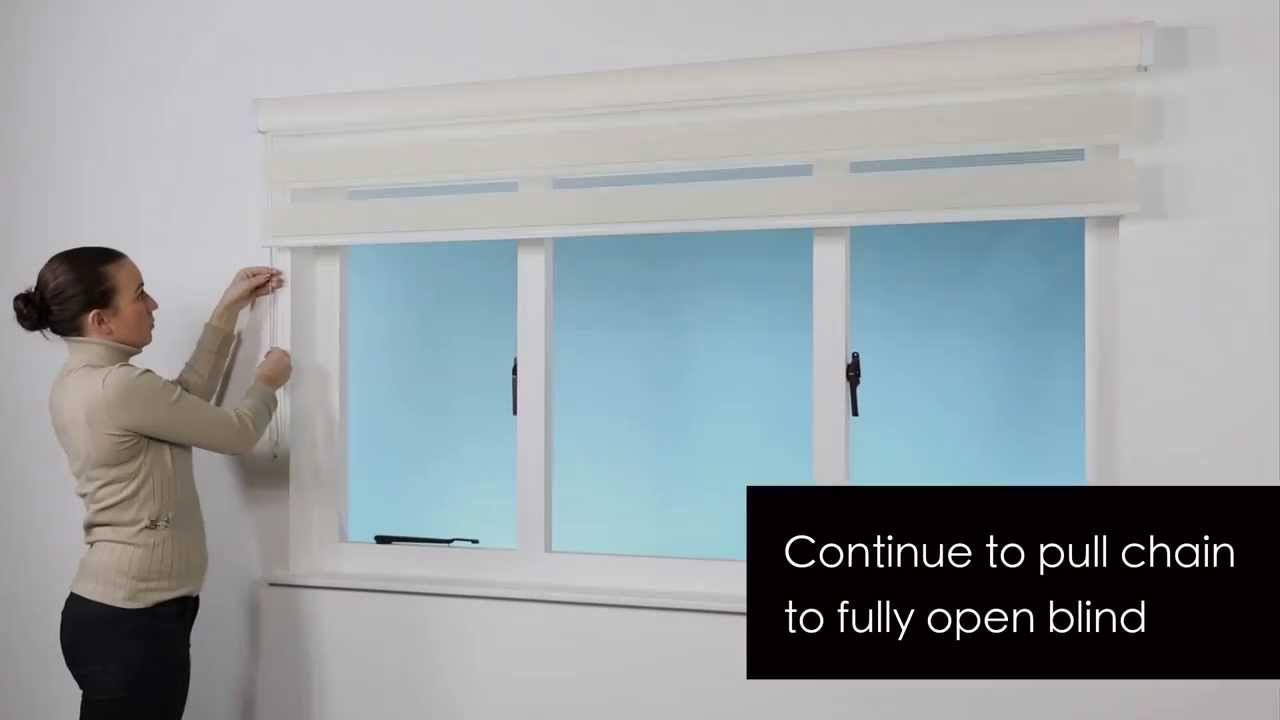 How to install surface mount Zebra Roller Blind