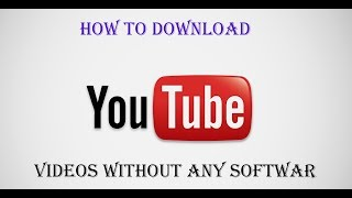 how to download video from any website without software