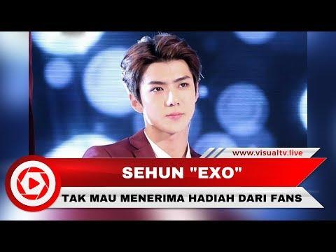 Sehun EXO Tak Mau Lagi Terima Hadiah dari Penggemar