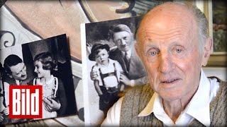 Adolf Hitlers Foto-Junge: Er war der Junge vom Nazi - Propaganda / Original Postkarte
