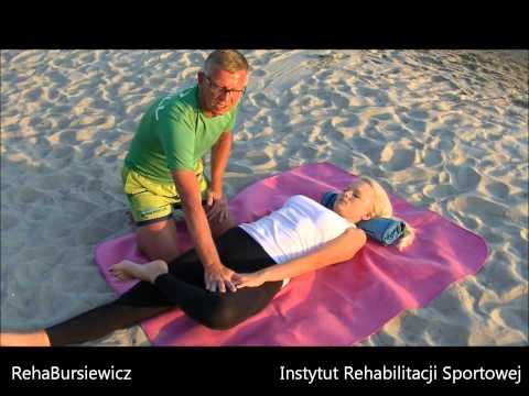 Jak rozciągnąć mięśnie pleców nóg