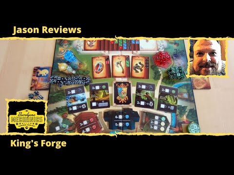 Jason's Board Game Diagnostics of King's Forge + Gold Expansion