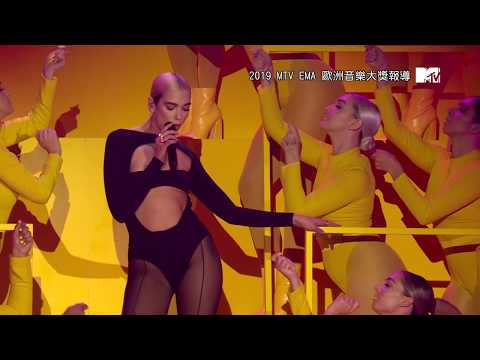 "Dua Lipa (杜娃·黎波) - ""Don't Start Now"" 【MTV EMA 2019】"