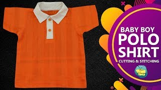 How to sew a Polo Shirt cutting and Stitching Full Tutorial in Hindi/Urdu