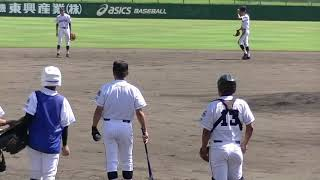 高校野球神戸第一シートノック『2018秋季兵庫県大会・1回戦』