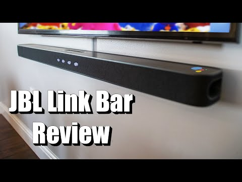 External Review Video 1SgKP9RRLMY for JBL LINK BAR Soundbar