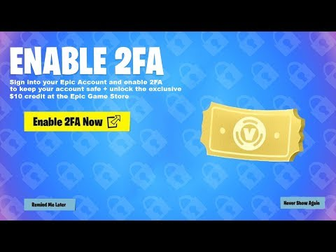 how to get 2fa on fortnite ps4