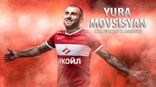 Yura Movsisyan ● All Goals & Assists for Spartak Moscow ● ᴴᴰ