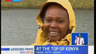 A visit to lake Alice on mount Kenya
