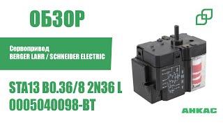 Сервопривод BERGER LAHR / SCHNEIDER ELECTRIC STA13 B0.36/8 2N36 L арт. 0005040098-BT