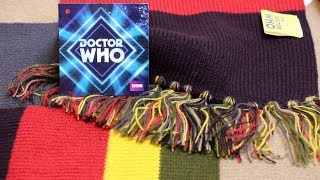Tom Baker Doctor Who Fourth Doctor Scarf - BBC America Shop version. Different to the BBC UK shop