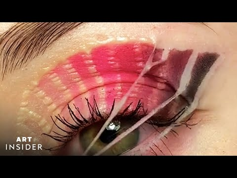 Get the Perfect Eye Look with Makeup and Glue