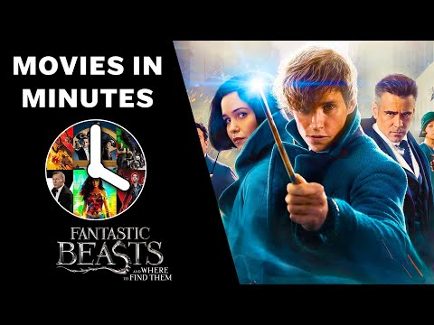 FANTASTIC BEASTS AND WHERE TO FIND THEM in 4 minutes (Movie Recap)