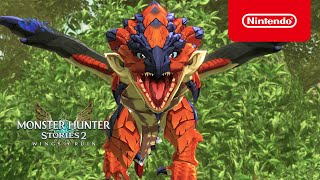 Nintendo Monster Hunter Stories 2: Wings of Ruin – Tráiler 2 (Nintendo Switch) anuncio