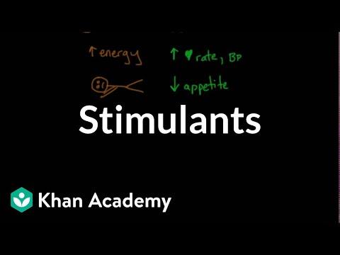 Psychoactive Drugs Stimulants Video Khan Academy