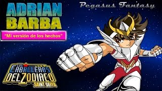 Adrián Barba - Pegasus Fantasy (Los caballeros del zodiaco)