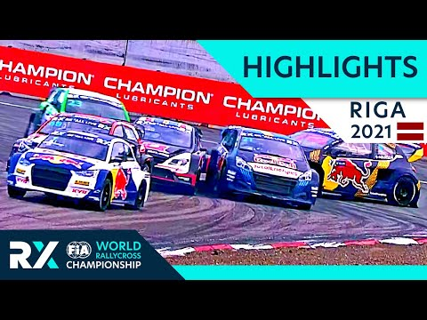 世界ラリークロス 第5戦ラトビア(リガ)2021年 Day2のファイナルドリフトハイライト動画①