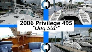 Used Sail Catamarans for Sale 2006 Privilege 495