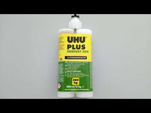 UHU® PLUS ENDFEST 300 versch. Verarbeitungsarten