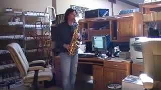 Dana Glover song Cherish off Testimony Record, Kylae Jordan saxophone