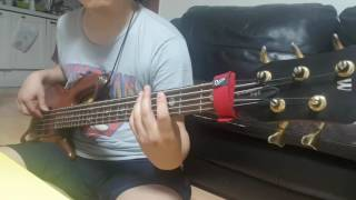 Strong all along - 311 (bass cover)