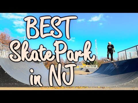 BEST SKATE PARK IN NEW JERSEY?!? (#1 RATED)