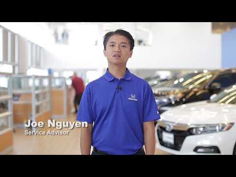 Service Advisor Joe Nguyen