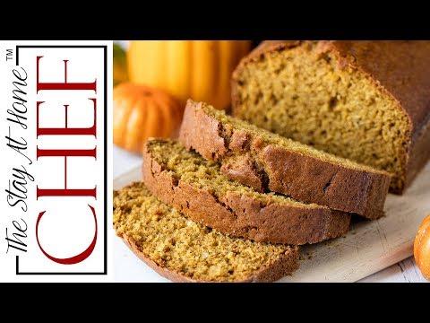 Moist Pumpkin Bread From Scratch