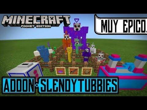 Slendytubbies 3 addon Review!!!Minecraft (1.2.0.2)|Steve the random 52