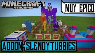 Slendytubbies 3 addon Review!!!Minecraft (1.2.0.2) Steve the random 52