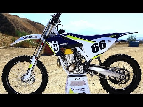 First Ride 2016 Husqvarna FC450 - Motocross Action Magazine