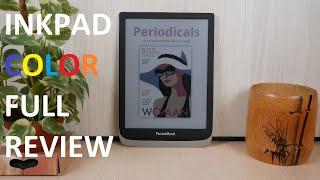 "Pocketbook Inkpad Color 7.8"" Kaliedo 2 Review"