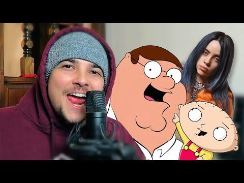 Billie Eilish - Bad Guy (Family Guy Version)