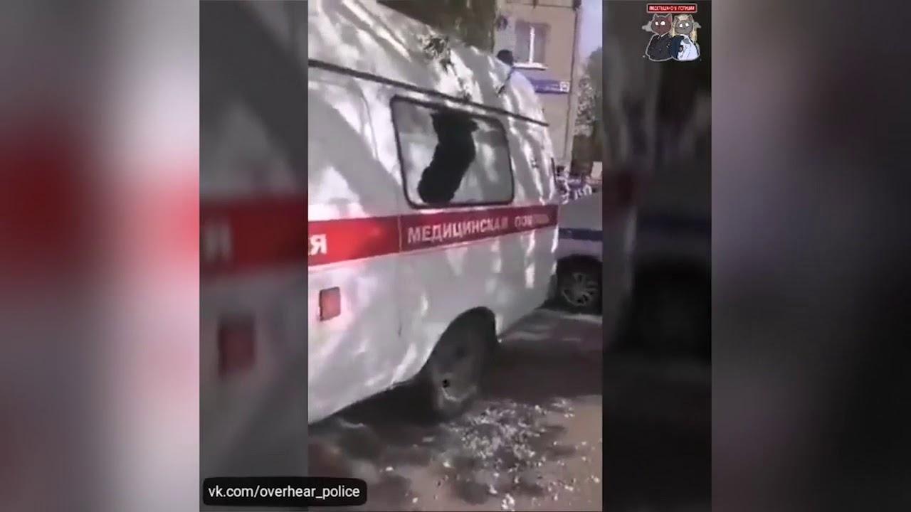 """Неадекватный житель Челябинска напал на бригаду """"скорой помощи"""" и полицейских"""