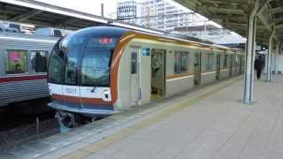 preview picture of video '東京メトロ10000系 東武東上線朝霞駅発車 Tokyo Metro 10000 series EMU'