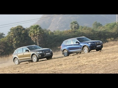 2013 Audi Q5 vs BMW X3 in India - BMW Videos