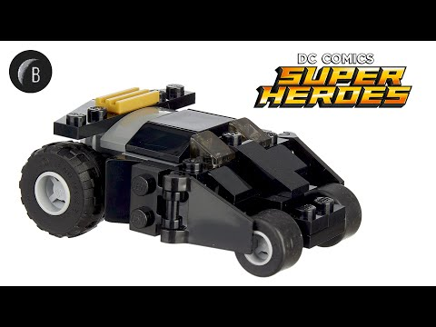 Vidéo LEGO DC Comics 30300 : The Batman Tumbler (Polybag)