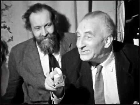 Праздник после защиты диссертации Коли Воронцова 1962 год. (Николай Николаевич Воронцов 1934-2000)