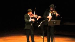 J.Haydn. Violin Duet in B Flat Major, op.99, 1st movement
