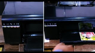 Epson L805 Printer General error I Red Light Blinking Problem Clear /remove