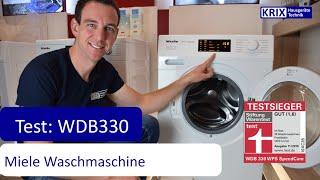 Test: Miele Waschmaschine WDB330 WPS Testsieger