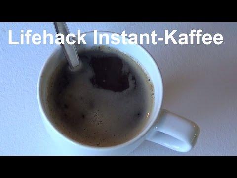 Instantkaffee Lifehack - Den besten Instant Kaffee der Welt machen