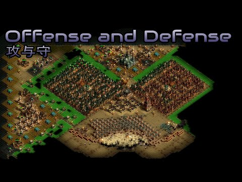 They are Billions - Offense and Defense (攻与守) - Custom Map - No pause