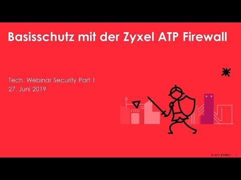 Zyxel ATP100 ATP-Firewall mit Sandbox inkl. Gold-Lizenz für 1 Jahr
