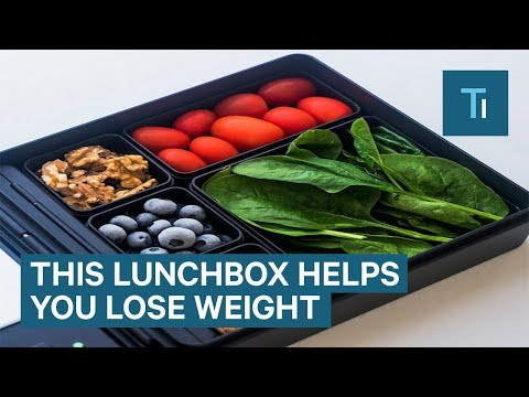 This Lunchbox Has A Scale To Get Your Macros