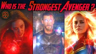 Who is the Strongest Avenger ( Officially ) | Most Powerful Avenger Explained in Hindi | DK Dynamic