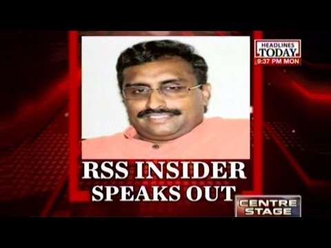 Centre Stage: Ram Madhav: Govt won't force its views on the people