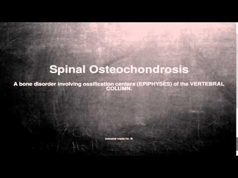 Lanestesia punge osteochondrosis