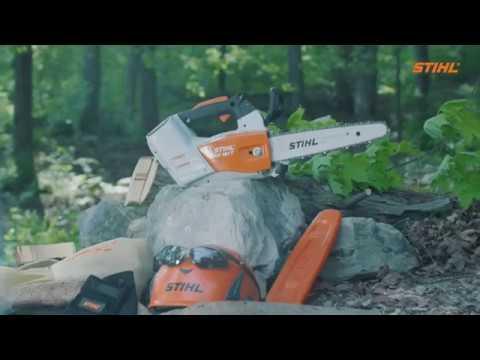 Stihl MSA 161 T Chainsaw in Warren, Arkansas - Video 1