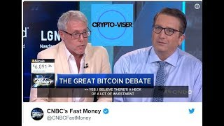 Bitcoin Going To $0? - Heated CNBC Debate With Former PayPal CEO